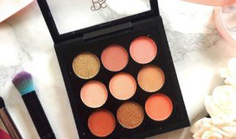 Testing Primark Eyeshadow – Peach Palette