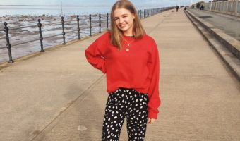 Styling The Spotty Trousers